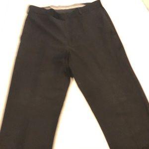 Black Perry Ellis dress slacks 34/32 EUC